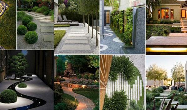 مجتمع فنی تهران طراحی فضای سبز