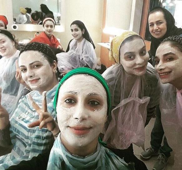 آموزش گریم، آموزش آرایشگری، گریم صورت، خودآرایی