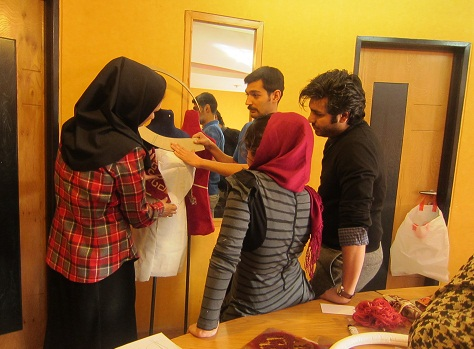 طراحی لباس متوسط، دوره طراحی لباس، دوخت، الگو، خیاطی، آموزش مجتمع فنی تهران