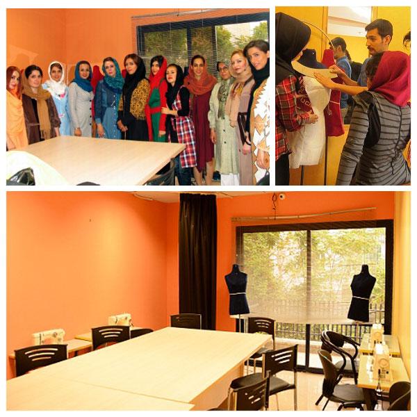 طراحی لباس مقدماتی، دوره طراحی لباس، دوخت، الگو، خیاطی، آموزش مجتمع فنی تهران