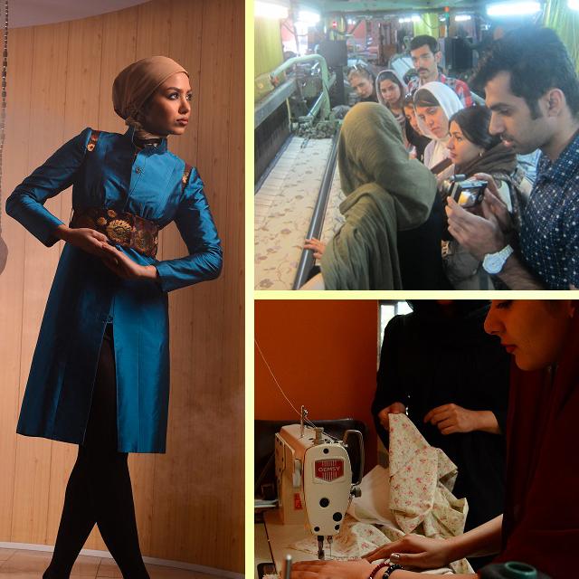 طراحی لباس الگو مجتمع فنی تهران