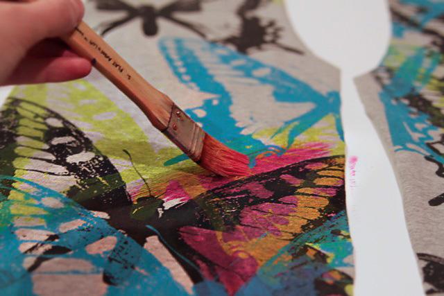 نقاشی روی پارچه، پارچه، نقاشی