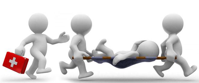 فوریت های پزشکی کمک های اولیه